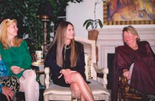 Debra Deanne Olson, Brooke Shields, and Hanne Strong