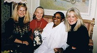 Debra Deanne Olson, Jane Goodall, Amma and Linda Evans