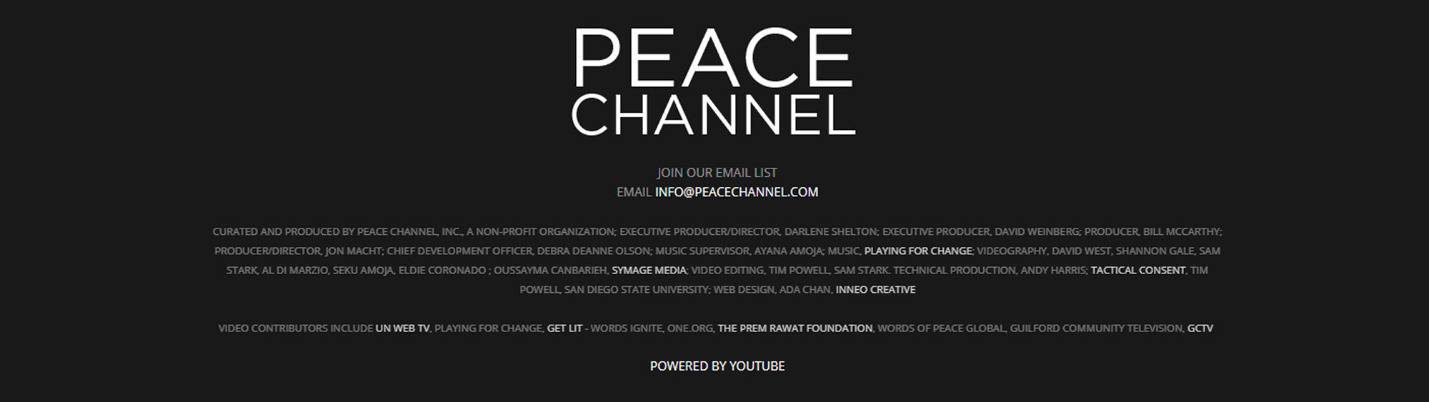 peacechannel.com